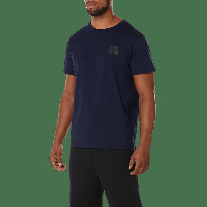Vestuário - Camisetas e Regatas Masculino Azul – Asics Tiger Brasil dbd145fa40bbb