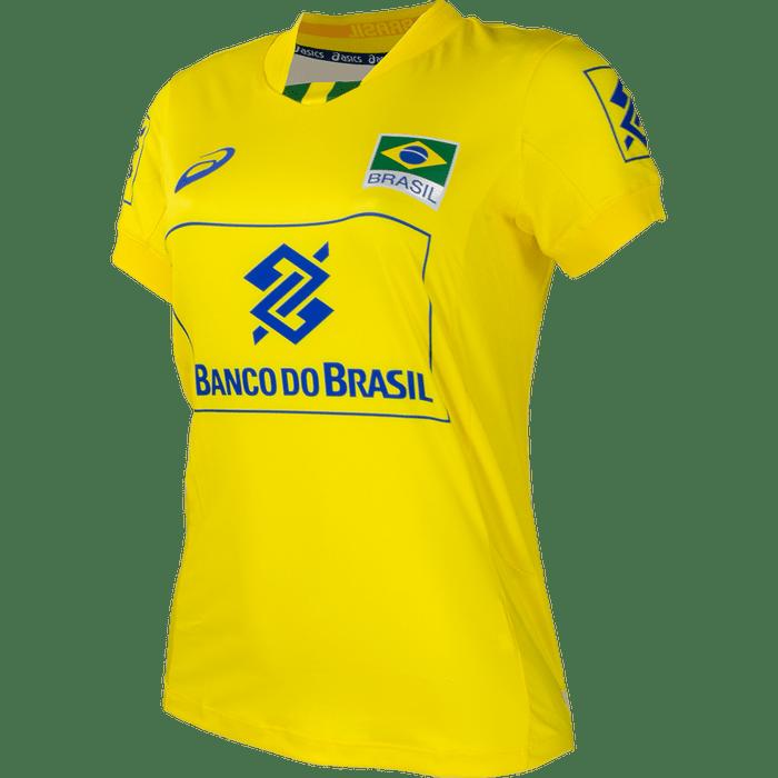 904b822018 CAMISETA OFICIAL JOGO CBV - Asics Brasil