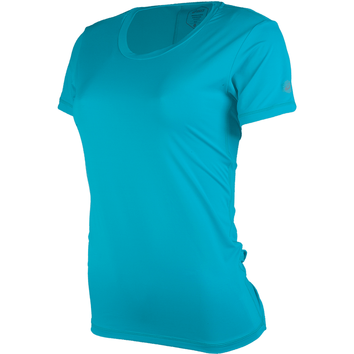 ASICS-Camiseta-feminina-azul