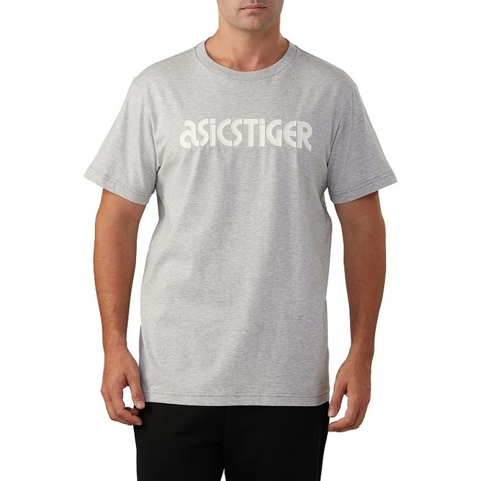 Camiseta-Asics-Tiger-Graphic-SS---Cinza