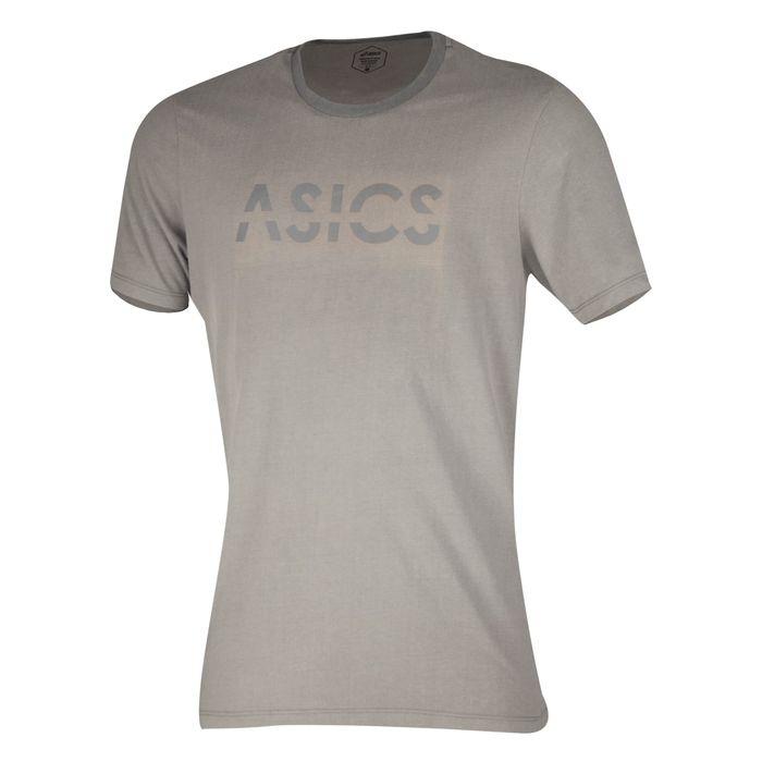 Camiseta-Asics-Training-Logo---Masculina---Cinza