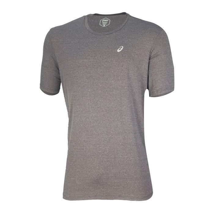 Camiseta-Asics-Core-Running---Masculina---Cinza-