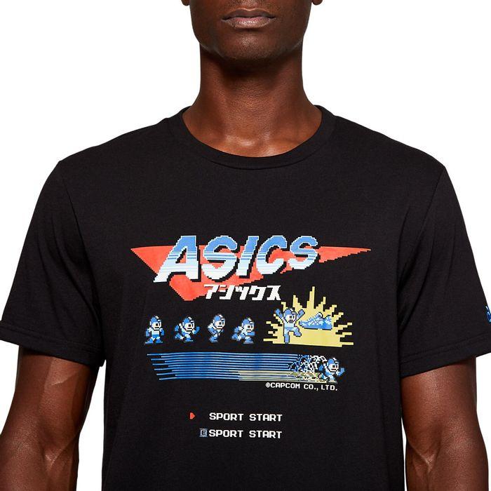 ASICS-Camiseta-Megaman