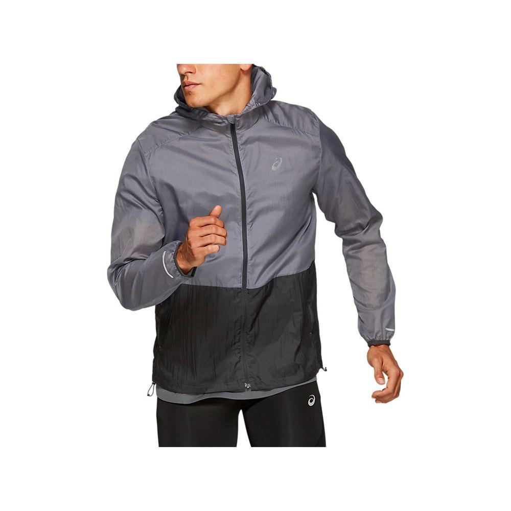 Jaqueta-Asics-Jacket---Masculino---Prata