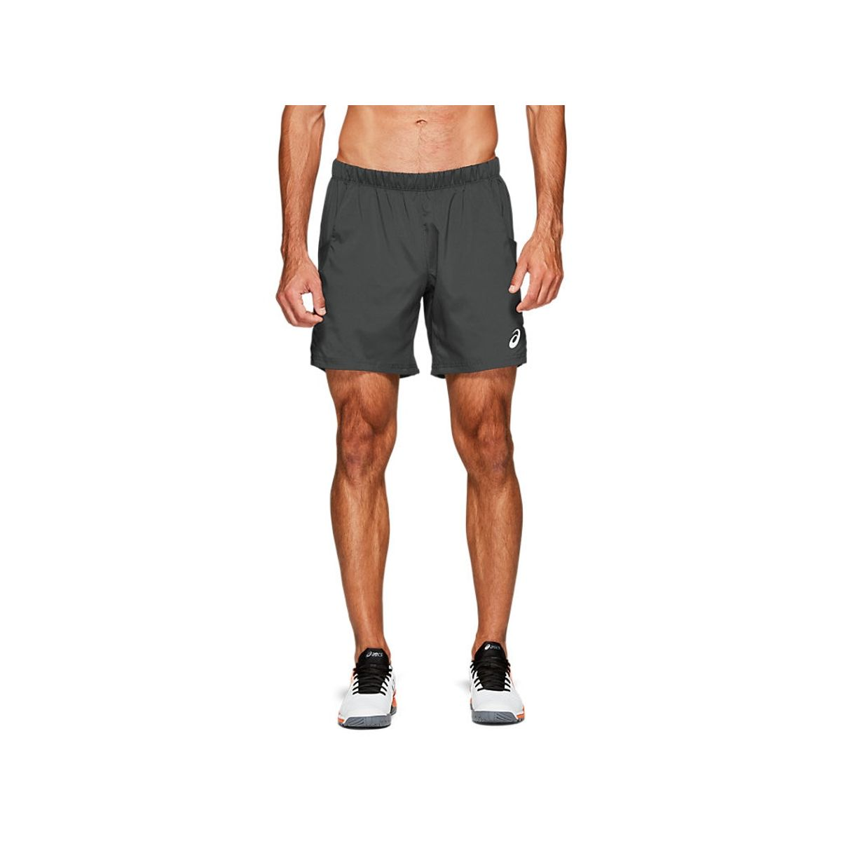 Short-Asics-7In---Masculino---Cinza