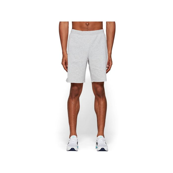 Short-Asics-9In---Masculino---Cinza