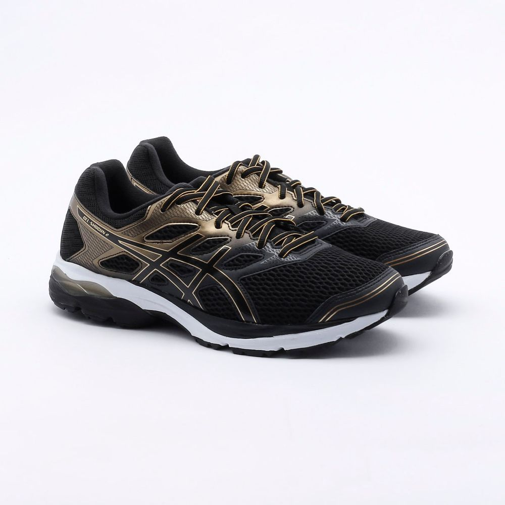 Tenis-Asics-GEL-Shogun-2---Masculino---Preto-e-Dourado