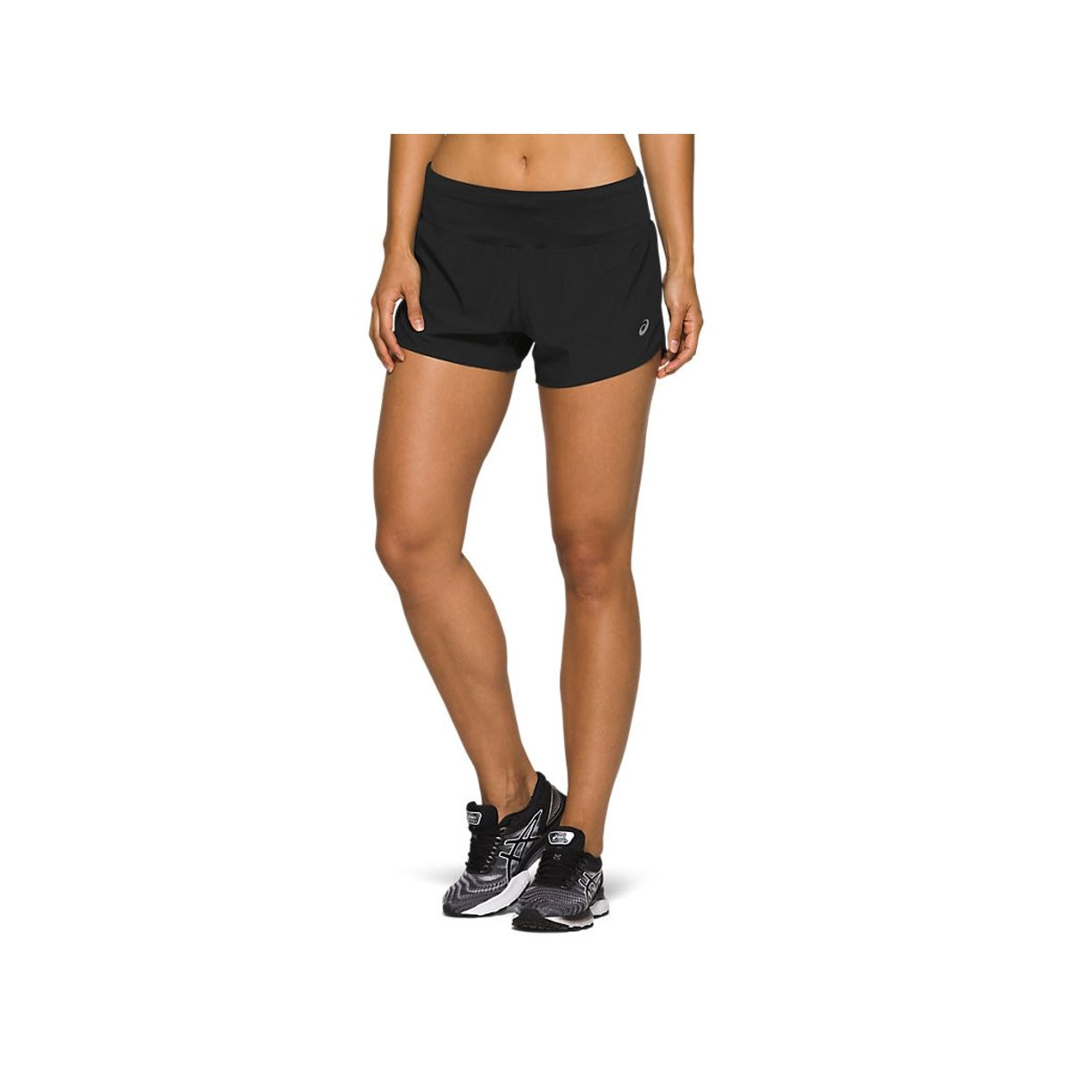 Short-ASICS-Road-3.5IN-Performance---Preto---Feminino