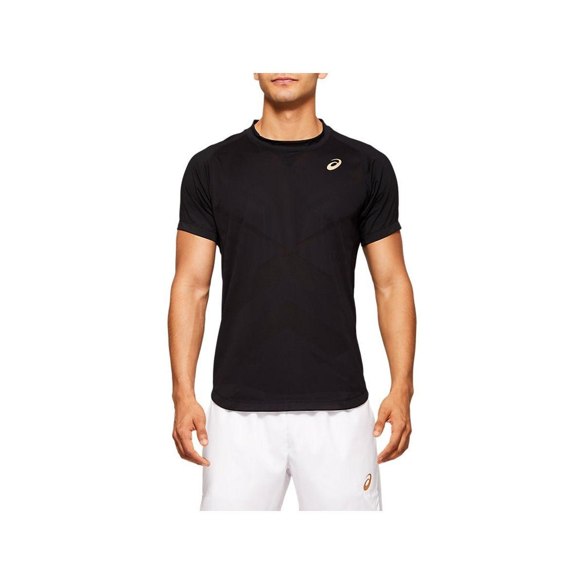 Camiseta-ASICS-Tennis---Preto---Masculino