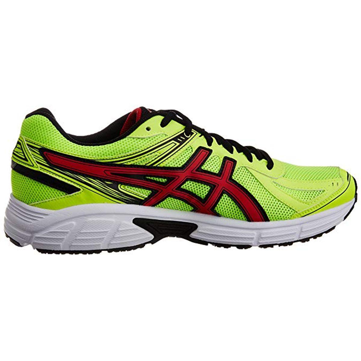 Tenis-ASICS-Patriot-7---Amarelo-Vermelho-e-Preto---Masculino