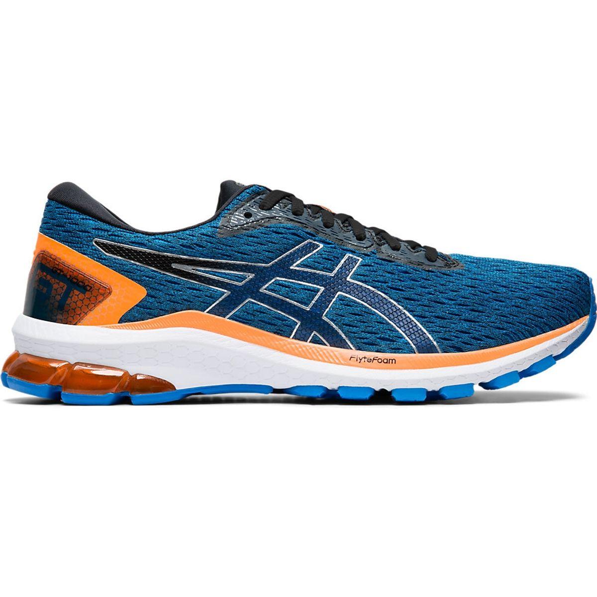 Tenis-ASICS-GT-1000-9---Masculino---Azul-e-Preto