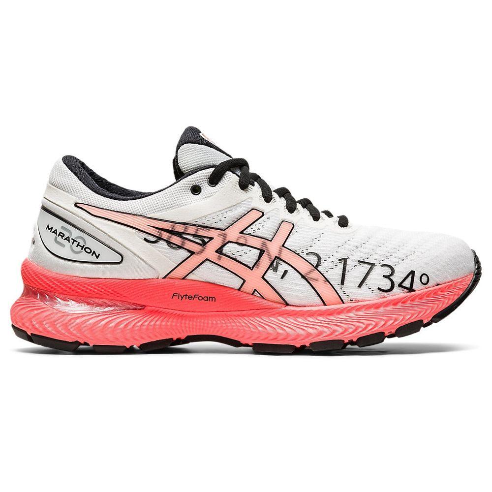 Tenis-ASICS-GEL-Nimbus-22-BM-----Feminino---Coral