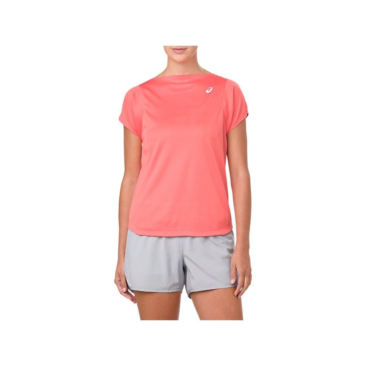 Camiseta-Asics-Practice---Feminino---Vermelho