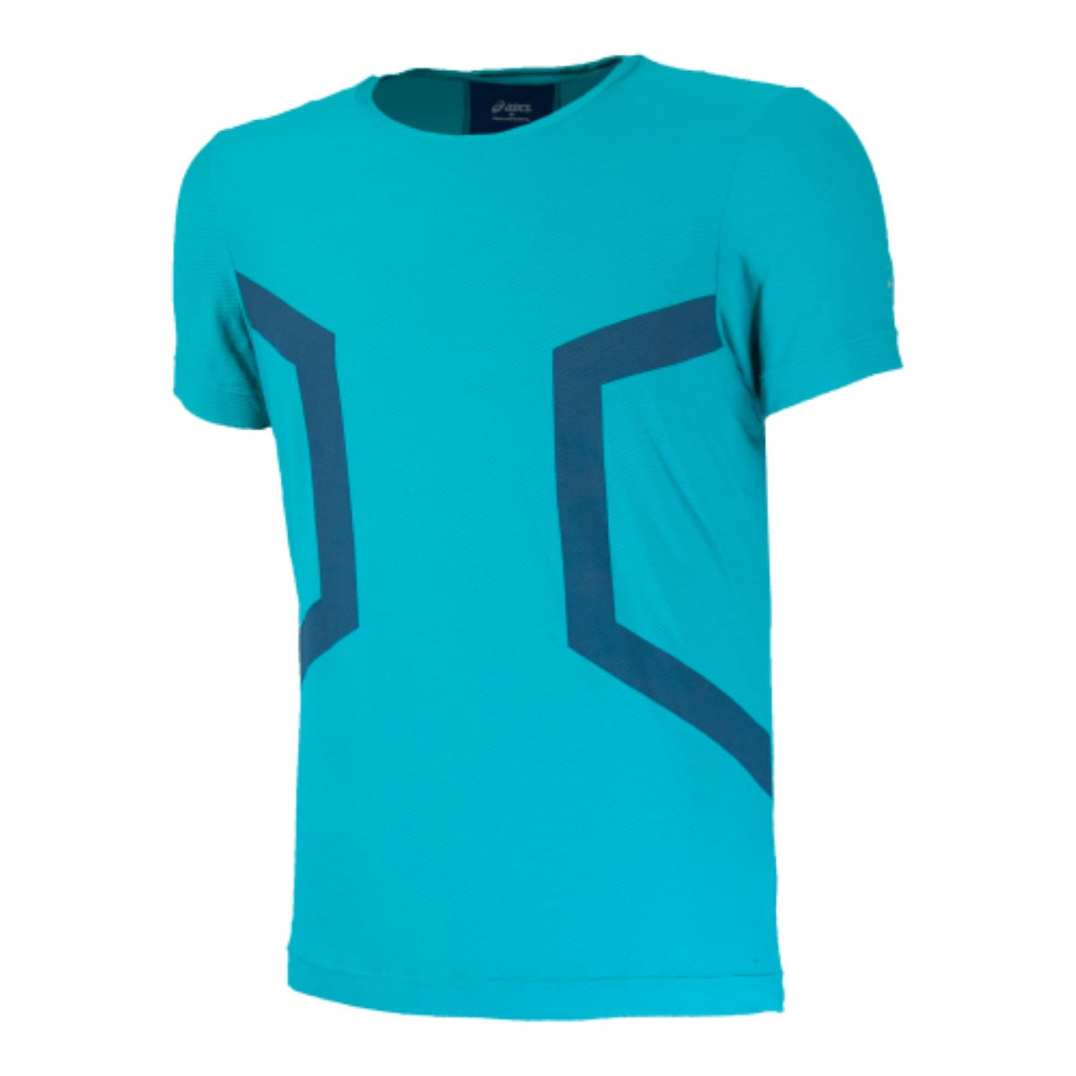 Camiseta-Asics-Training-Overhead-Crew---Masculino---Azul