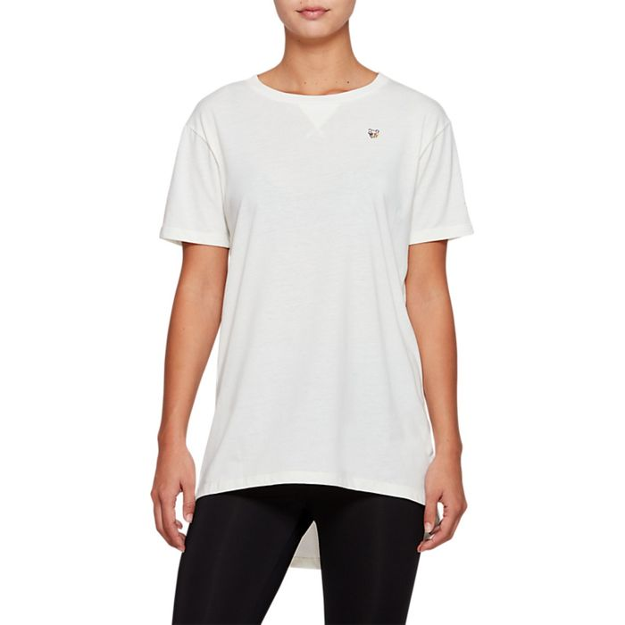 Camiseta-Asics-Dress---Feminino---Creme