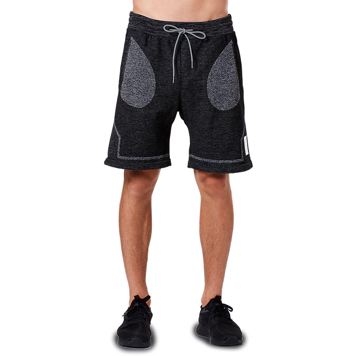 Bermuda-Asics-Tiger-Premium-Knit---Masculino---Preto