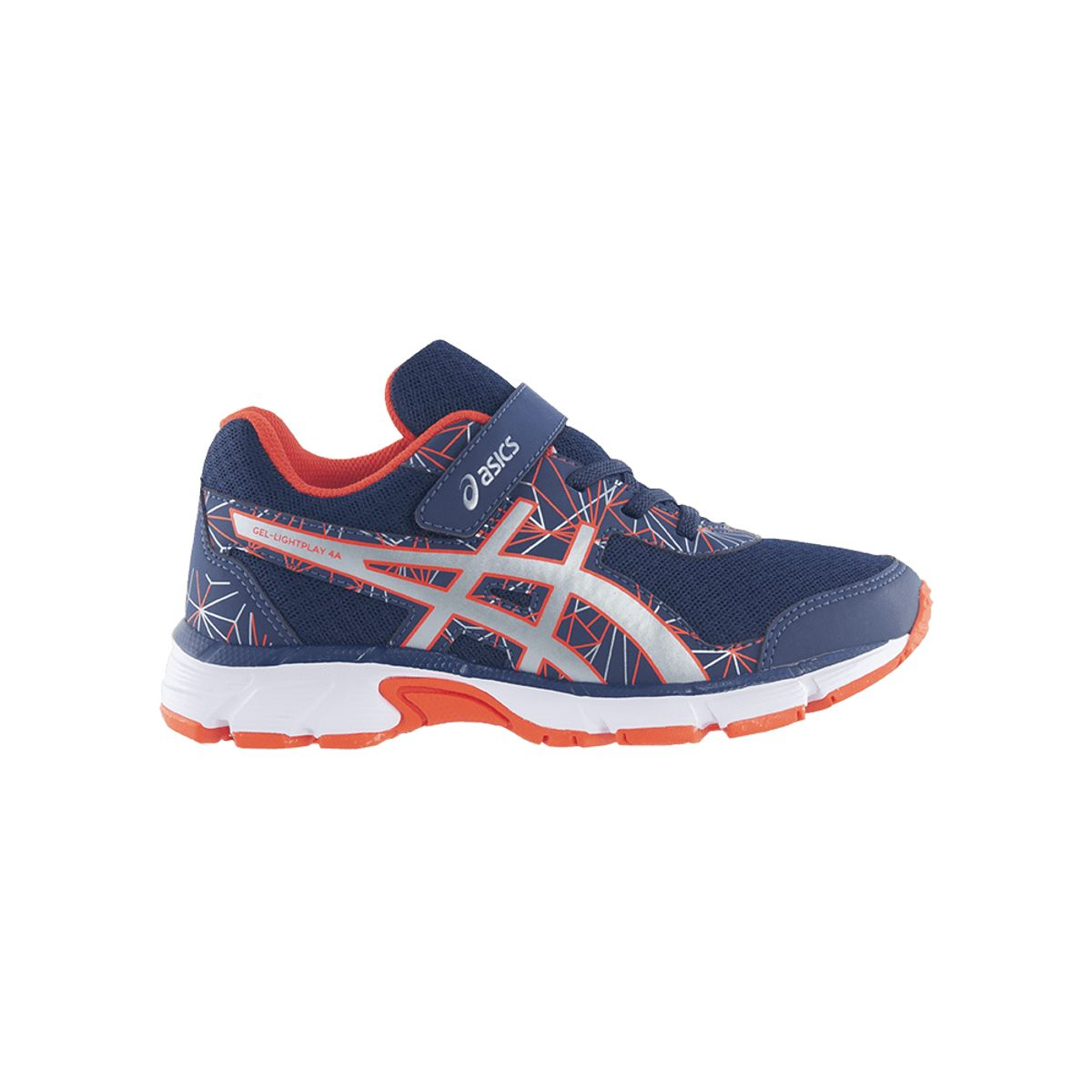 Tenis-Asics-GEL-Light-Play-4-PS---Juvenil---Marinho