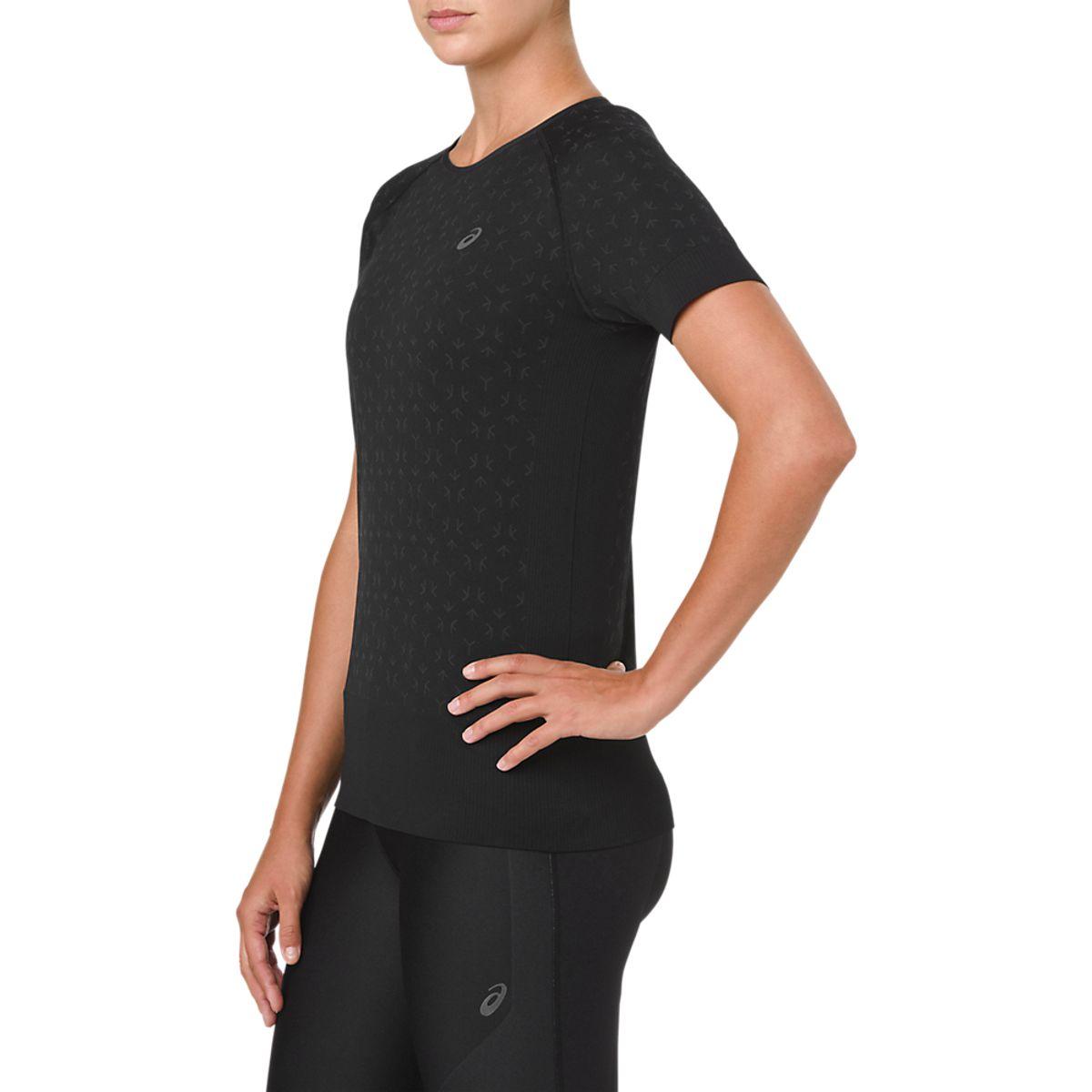 Camiseta-Asics-Short-Sleeve---Feminino---Preto