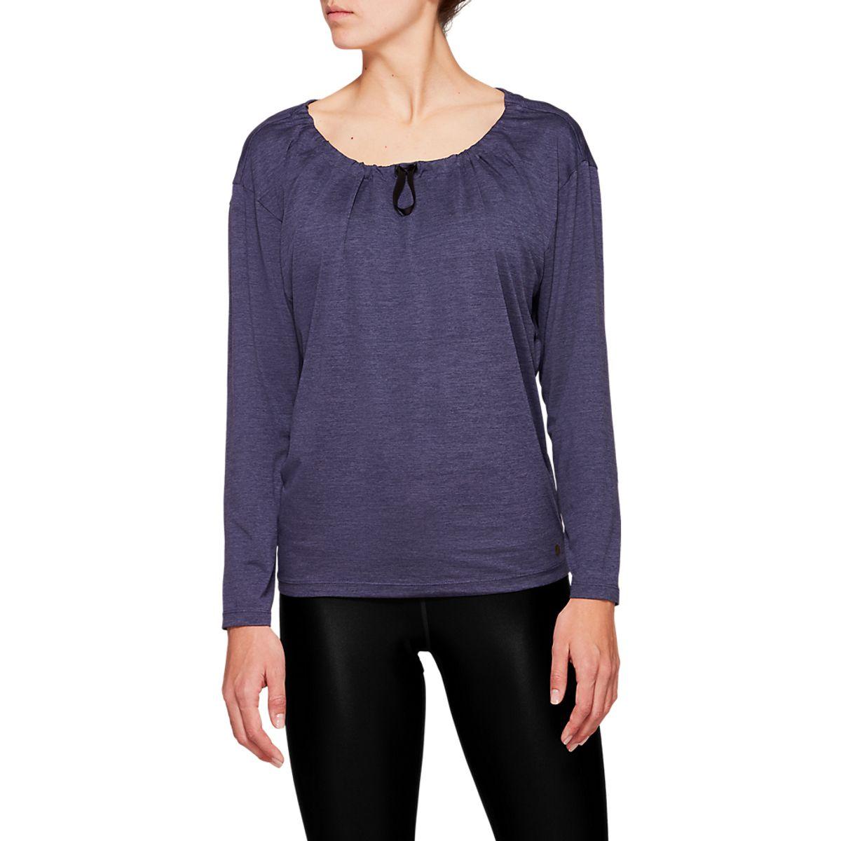 Camiseta-Asics-Short-Sleeve---Feminino---Cinza