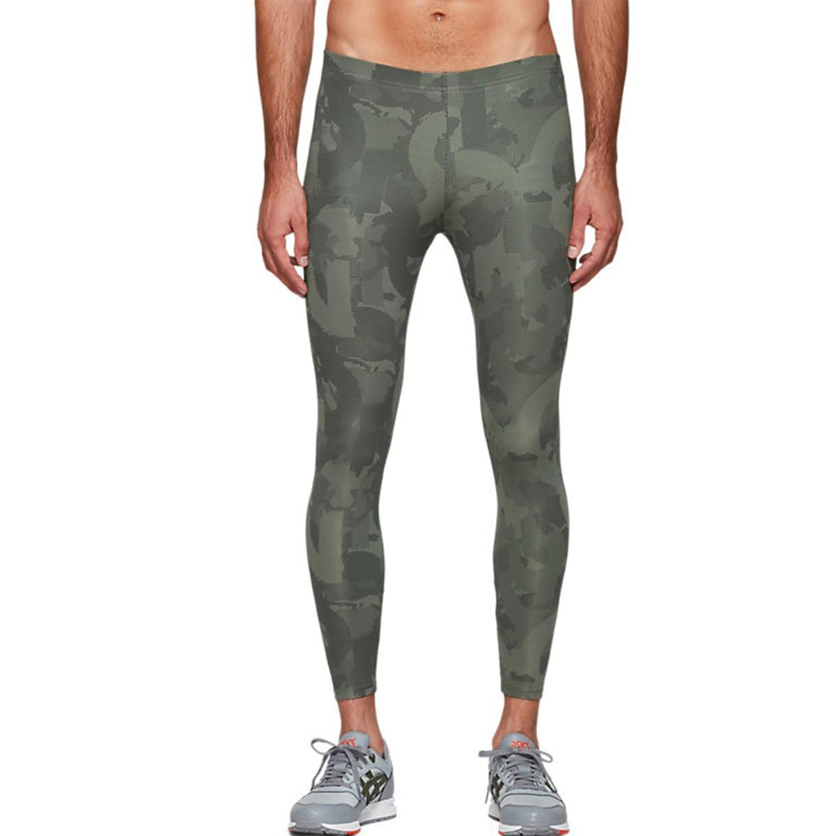 Calca-Asics-Tight---Masculino---Verde