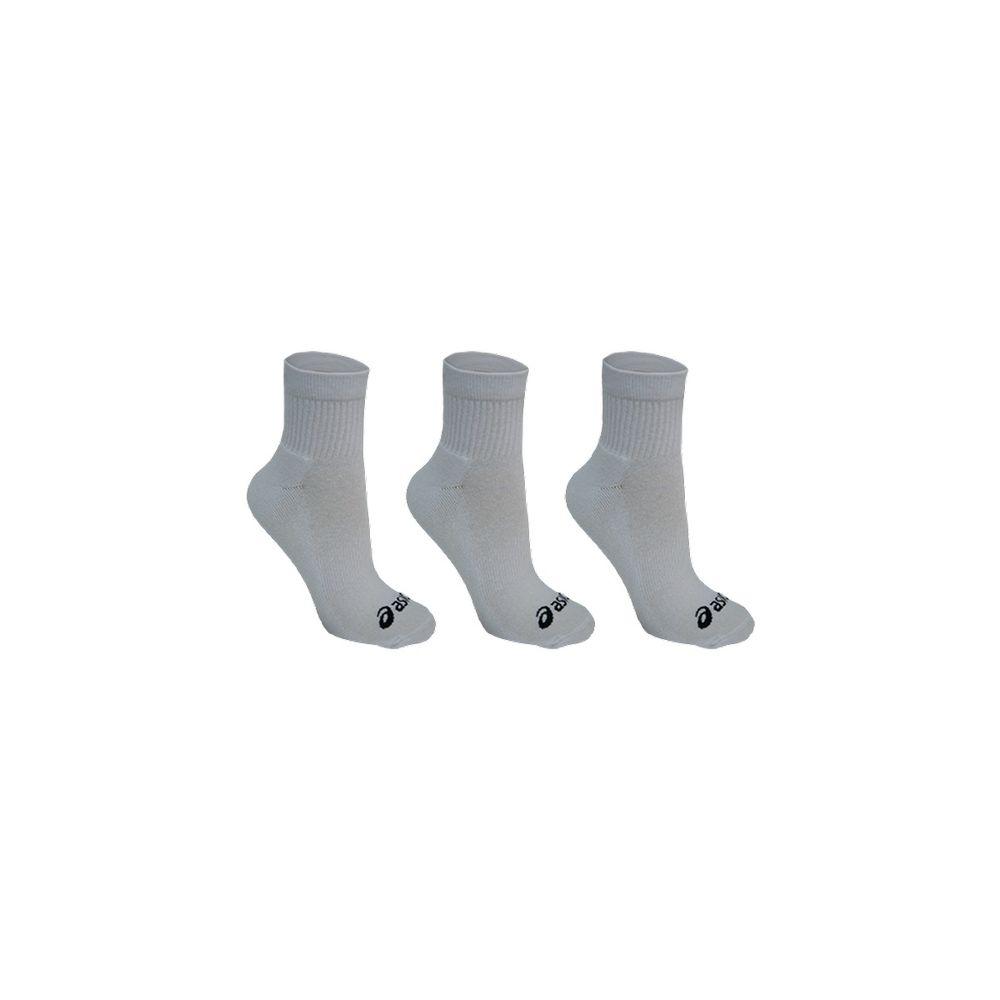 Meia-ASICS-Basic-Pack---Unissex---Branco