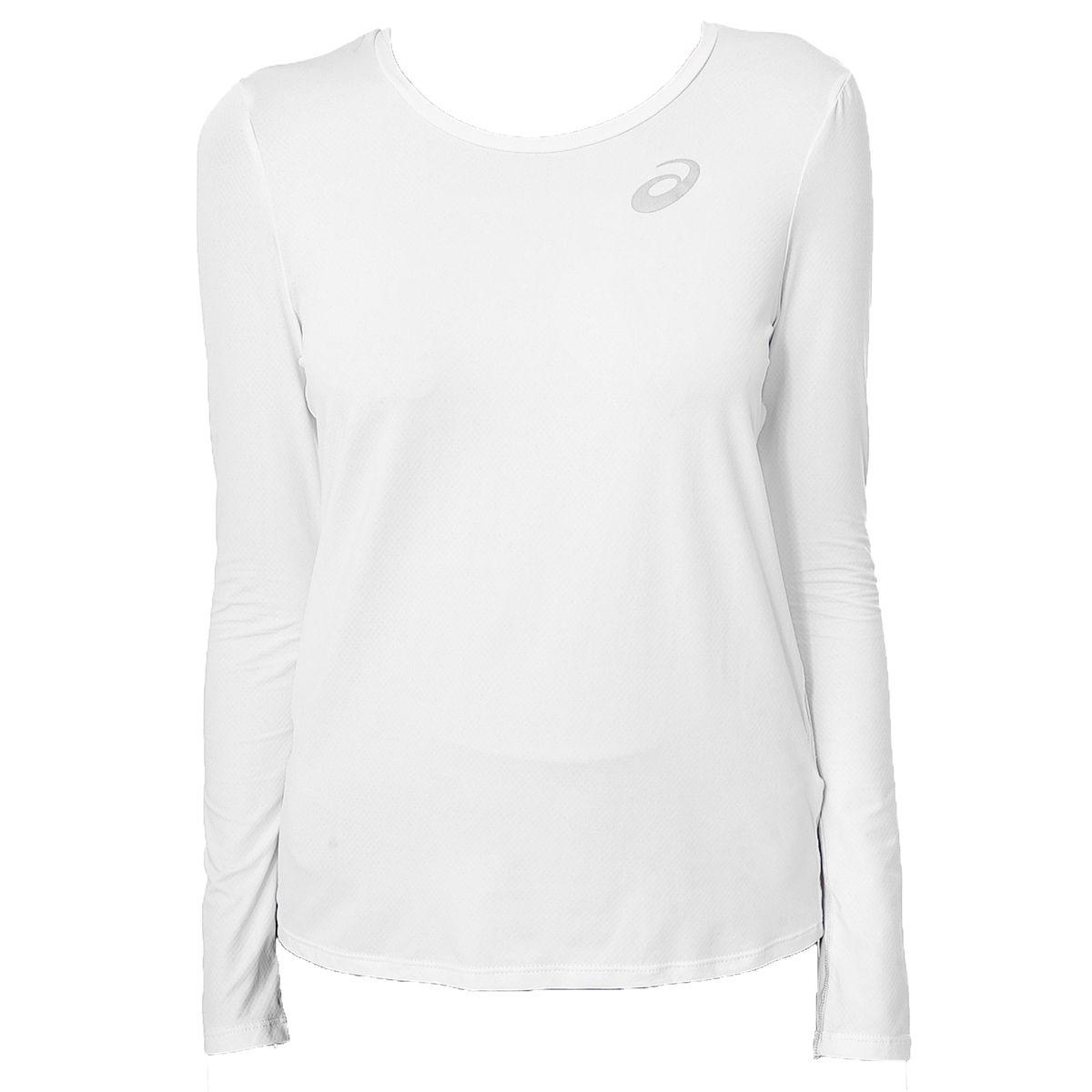 Camiseta-Asics-Manga-Longa---Feminino---Branco