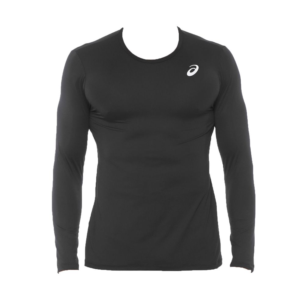 Camiseta-Asics-Long-Sleeve---Masculino---Preto