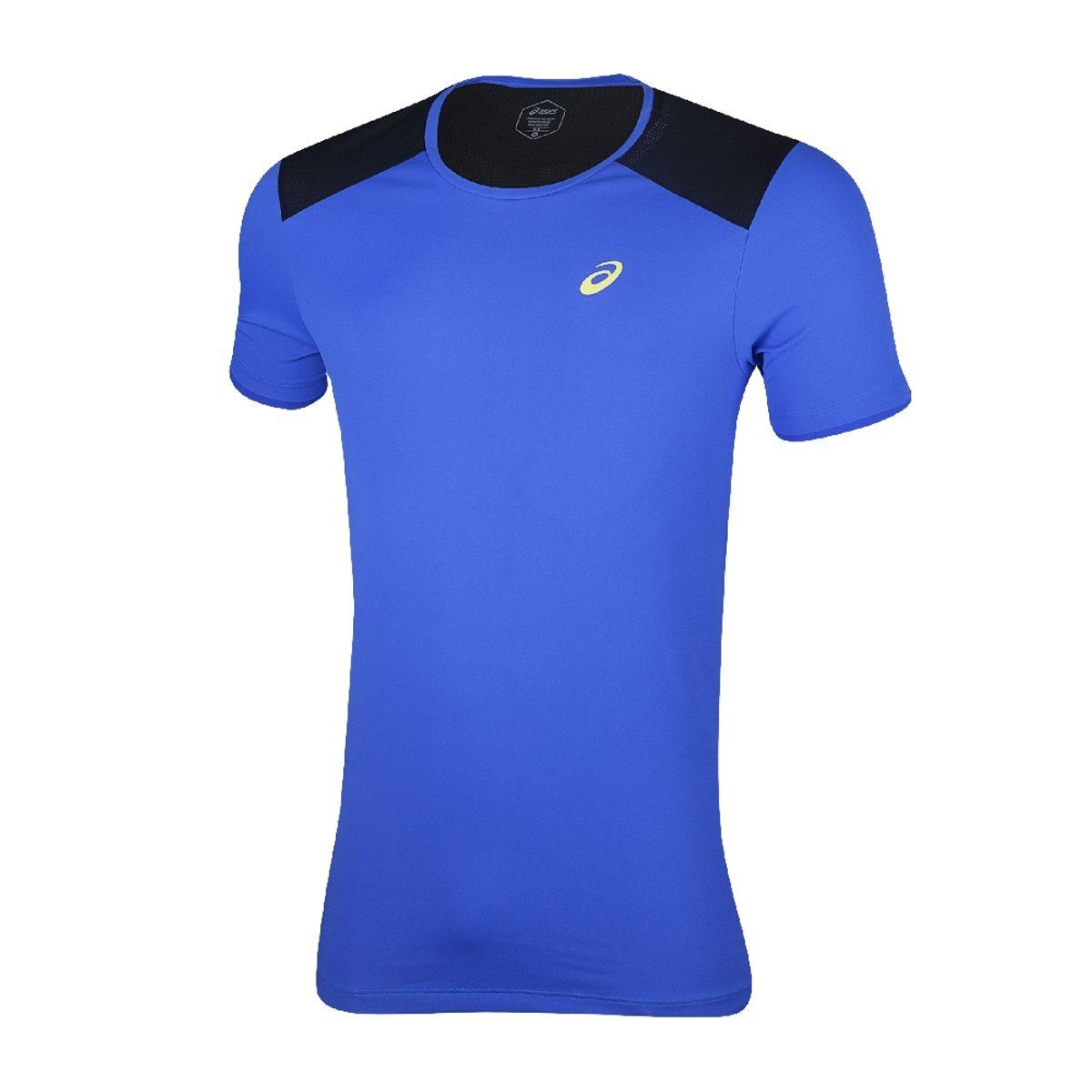 Camiseta-Asics-Short-Sleeve---Masculino---Azul