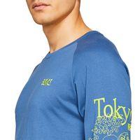 Camiseta-Asics-JSY-JPN-GPX-Manga-Longa