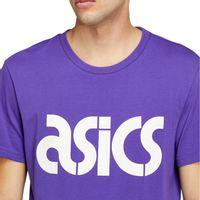 Camiseta-Asics-JSY-BL-Manga-Curta