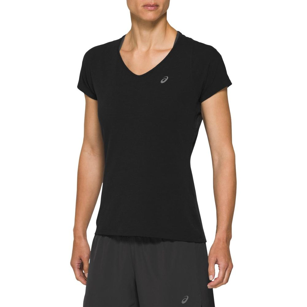 Camiseta_Asics_de_Manga_Curta__Preta_1