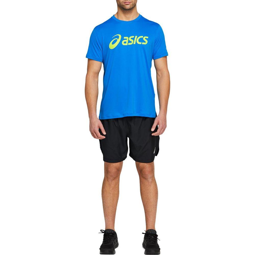 Camiseta_Asics_de_Manga_Curta_Azul_com_verde_1
