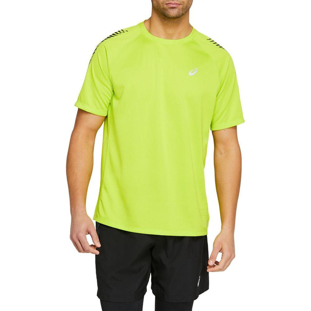 Camiseta_Asics_de_Manga_Curta_Icon_Verde_1